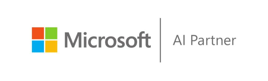 microsoft ai partner logo