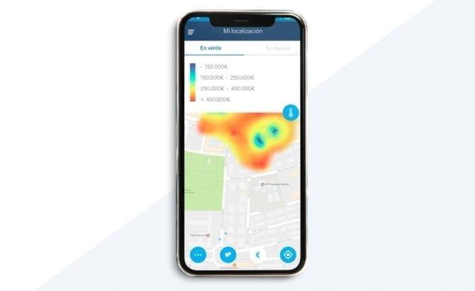 aplicación movil mapa