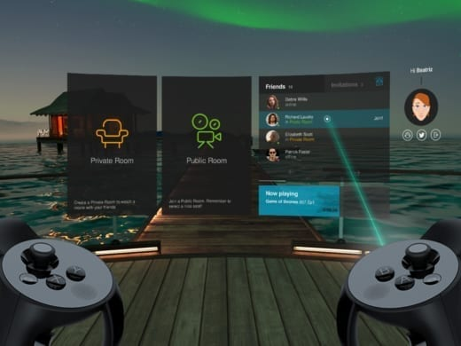 Television RV oculus