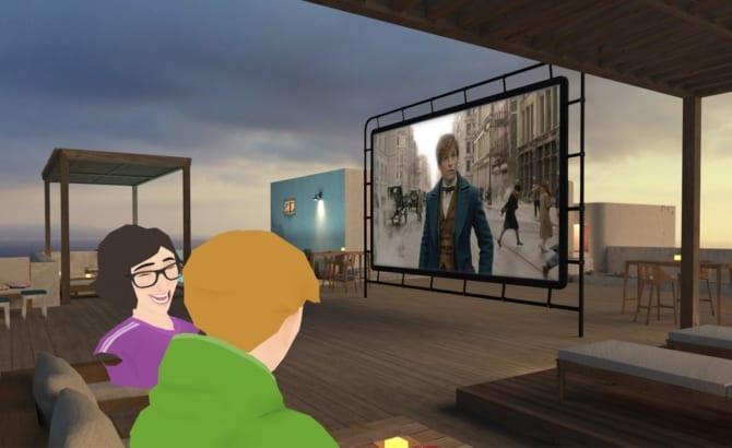 realidad virtual television