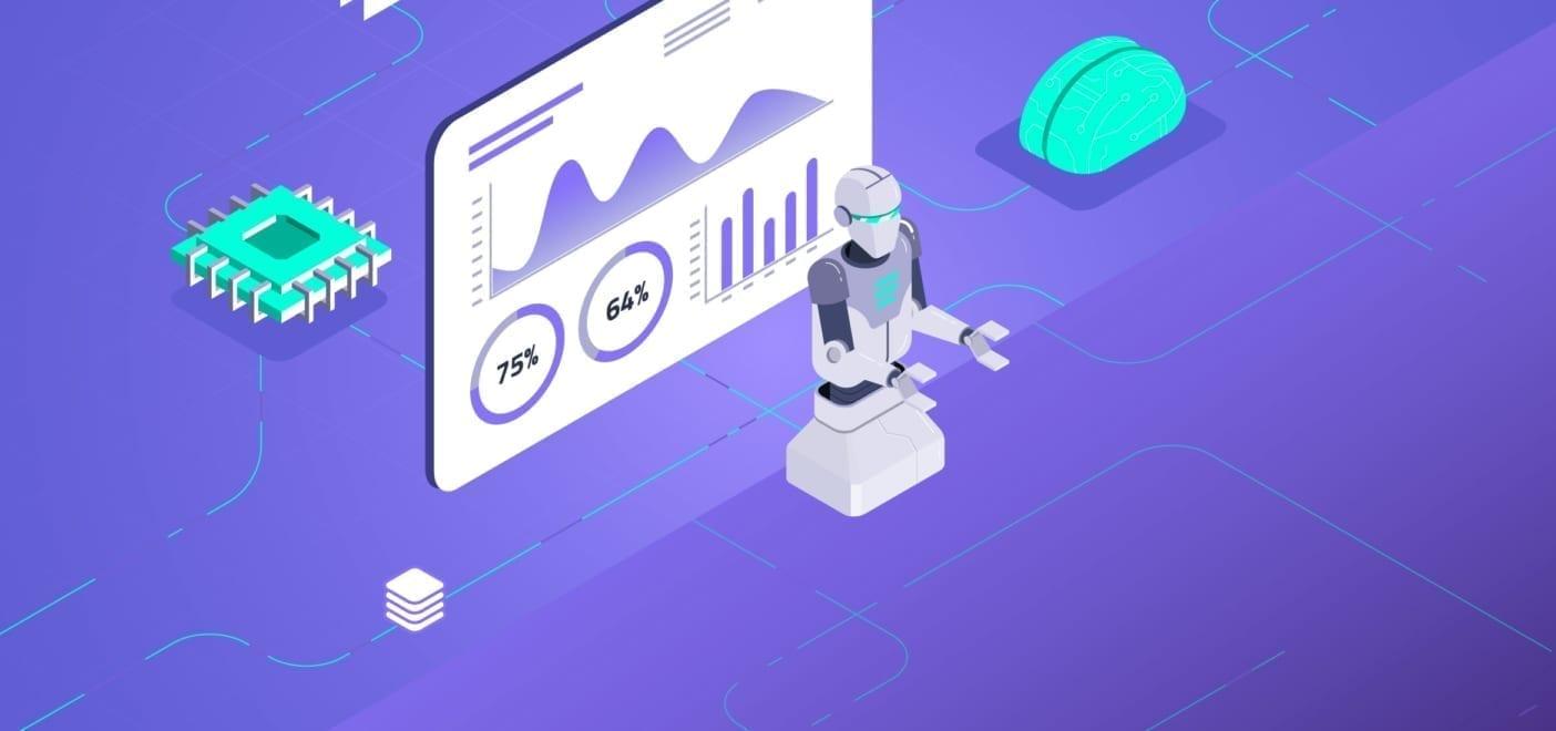 ilustracion robot tecnologia