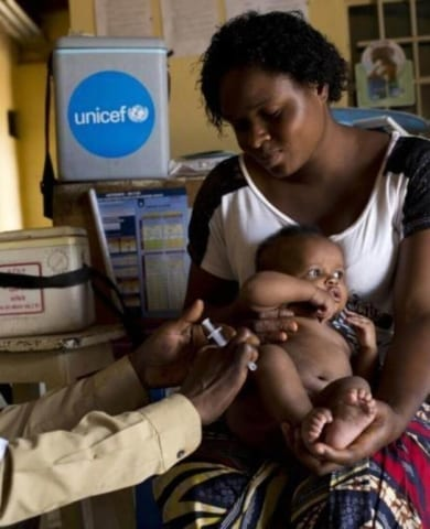 Campana Vacunacion Unicef