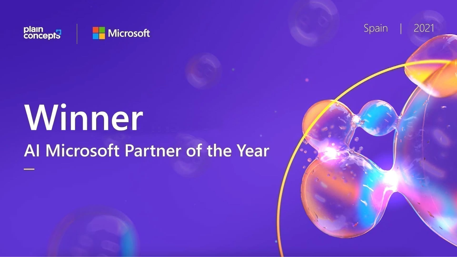 AI Microsoft partner of the year