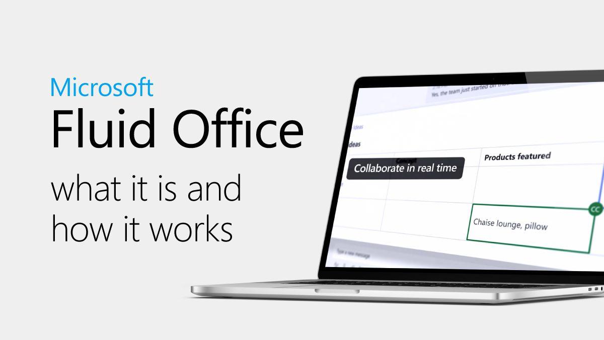 Microsoft fluid office