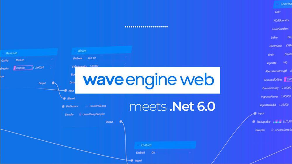 Wave Engine web .Net 6
