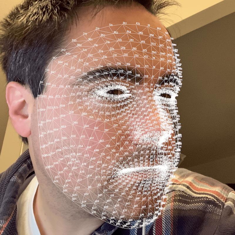 seguimiento facial arkit